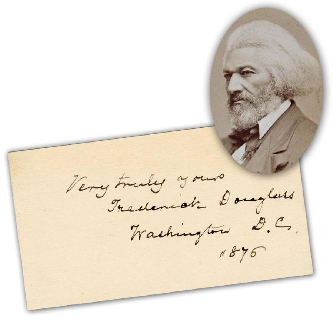 Frederick Douglass Lovely Signature