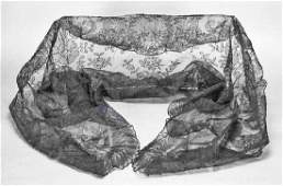 Jacqueline Kennedy's Black Lace Mantilla, with