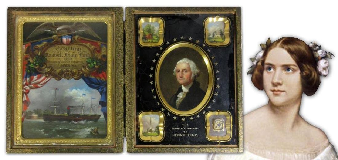George Washington Presented to Jenny Lind a Magnificent