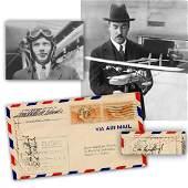 Charles Lindbergh & Igor Sikorsky Signed First Flight