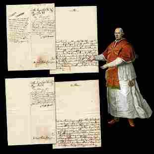 """Pope Pius VI Issues """"Il Breve di Oratorio Privato"""" to"""