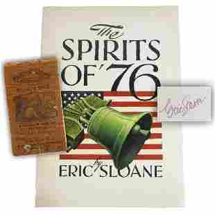 Eric Sloane Leads Americana Lot