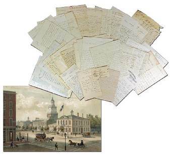 Philadelphia Attorneys and Merchants 55 Letters