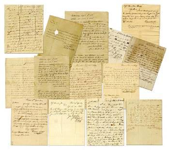18131834 Archive of Philadelphia Merchants Hamilton