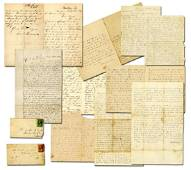 Civil War, 13 Excellent Letters, a Soldier Who Died at