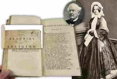 Millard Fillmore Signed Religious Book