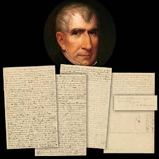 William Henry Harrison Extraordinary Campaign Letter