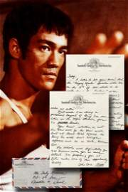 "Bruce Lee Writes Re: The Green Hornet, ""Gung"