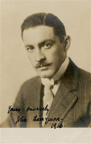 John Barrymore Early SP 4 Years before Dr Jekyll and