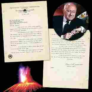 Cecil B DeMille Declines Offer to Buy Volcano Footage