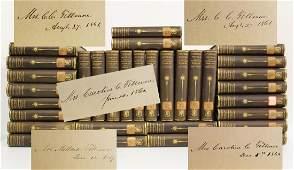 Millard Fillmore Signed 32x, Set of 32 James Fenimore