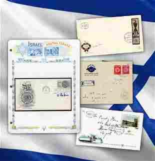 Israeli Leaders Dayan Meir Rabin Peres