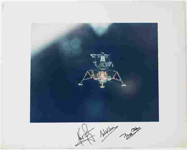 """Apollo 11 Armstrong, Aldrin, and Collins Signed """"Eagle"""""""
