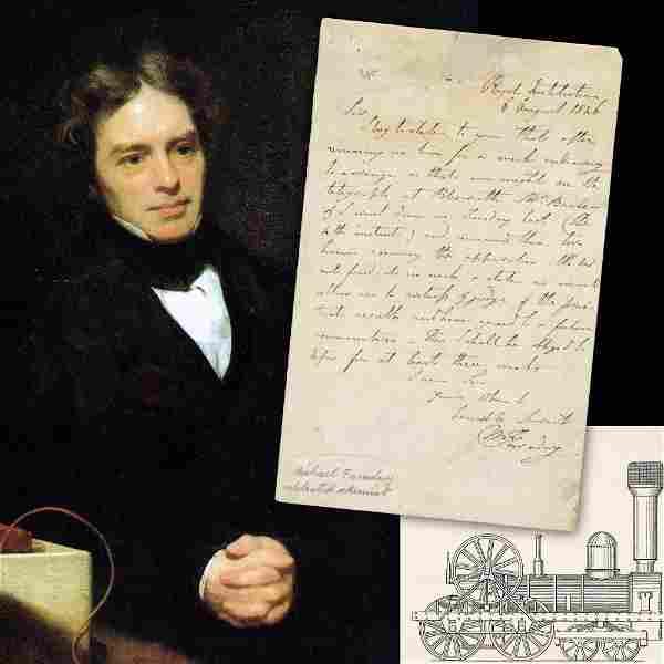 Michael Faraday, British Scientist, ALS Re: Railway