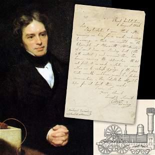 Michael Faraday British Scientist ALS Re Railway