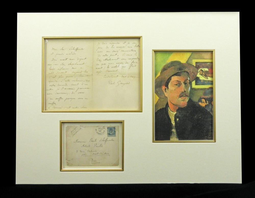 Paul Gauguin ALS 2 Months before his Final Departure