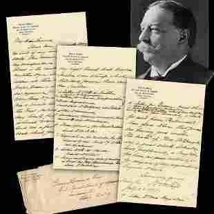 William H Taft ALS I have been vigorously doing no