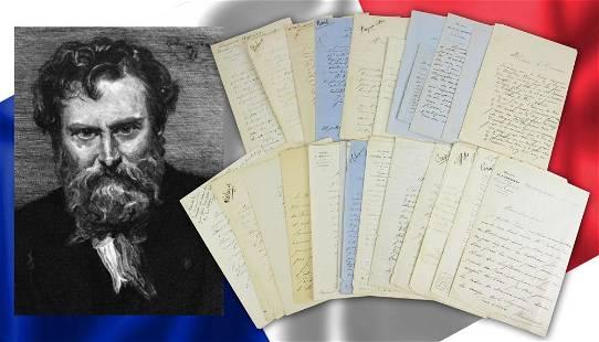 Exposition des Beaux-Arts, 1857, 27 letters: Furor over