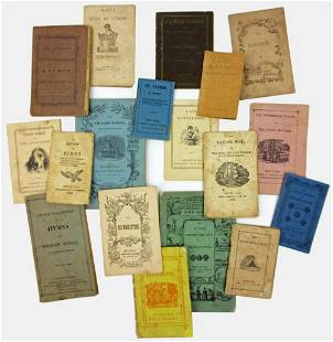 Delightful Childrens Chapbooks from the 19th Century