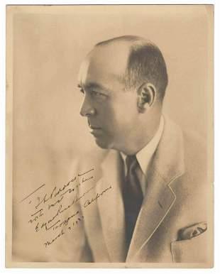Tarzans Edgar Rice Burroughs Signed Photo 1931