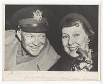 Dwight and Mamie Eisenhower Signed Photograph