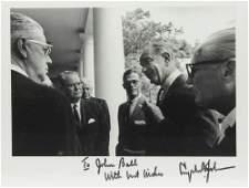Lyndon B. Johnson Signed & Inscribed Photo