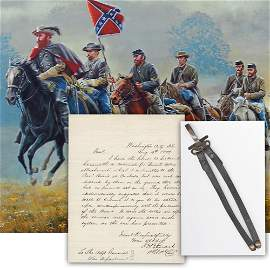 J.E.B. Stuart Pleads Review of His Saber Attachment
