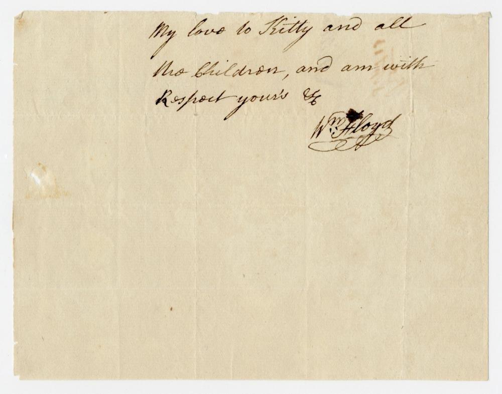 Declaration Signer William Floyd Uncommon AL