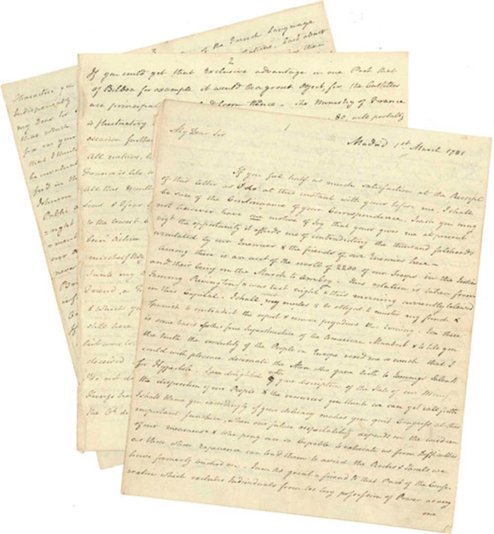 Declaration Signer E. Gerry Receives 12pp Letter in