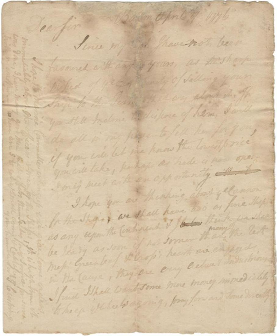 Declaration Signer John Hancock Endorsement on Thomas