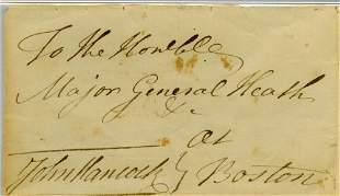 Declaration Signer John Hancock; Very Fine Example of