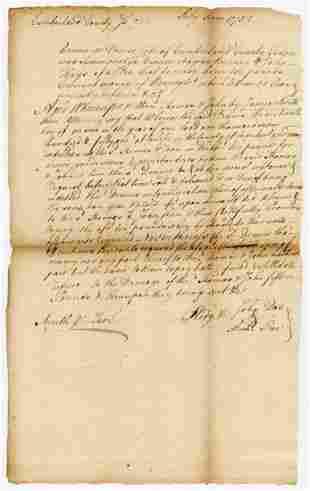 Declaration Signer James Smith Interesting DS