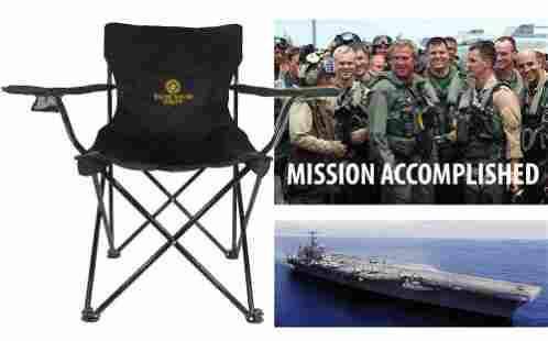 White House Staff Deck Chair Used Aboard USS