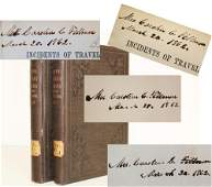 Millard Fillmore Signed and Inscribed Book Set: Egypt,