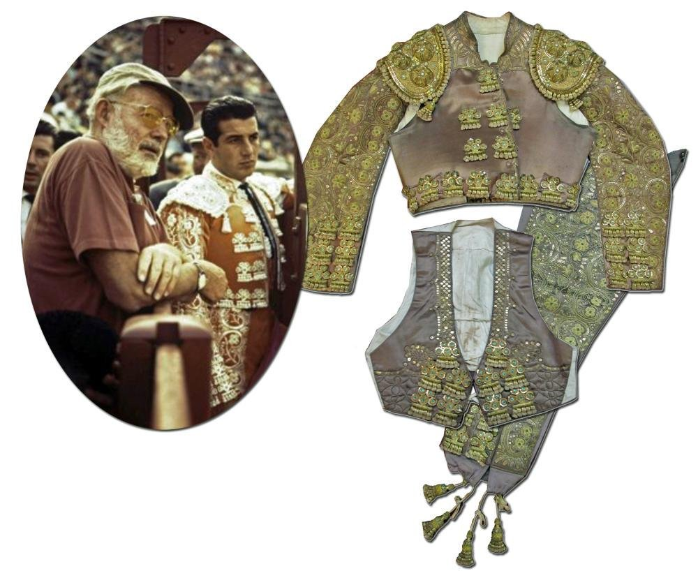 Ernest Hemingway Owned and Presented Matador Outfit of