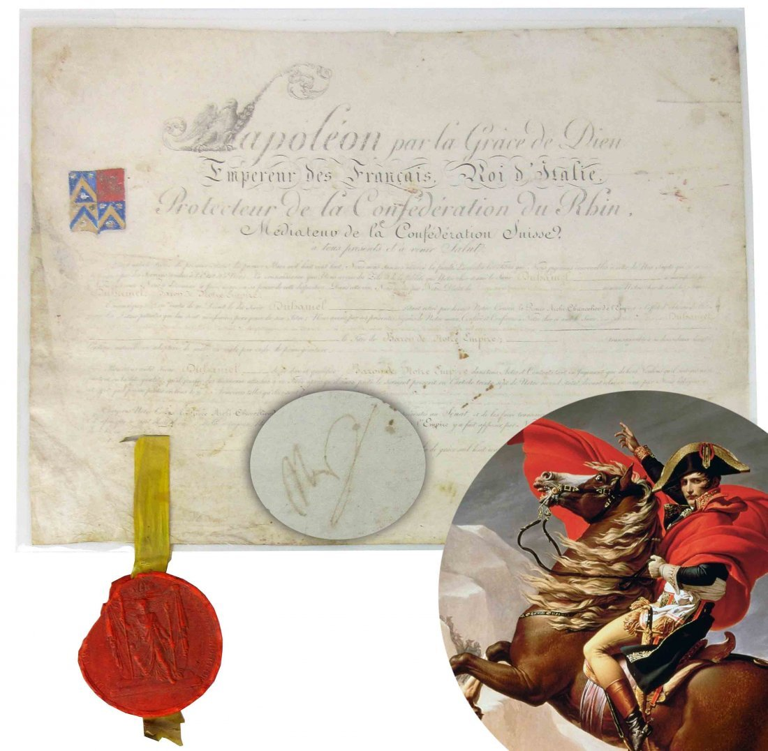 Napoleon DS Featuring Imperial Eagle and Enormous Great