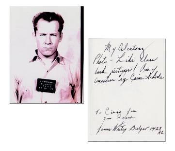 Gangster Whitey Bulgers Photo from Alcatraz Prison