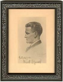 F. Scott Fitzgerald Signed Gordon Bryant Portrait