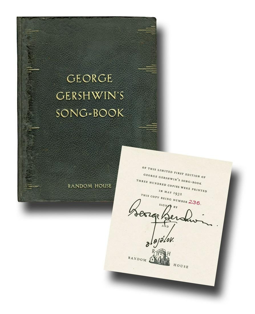 George Gershwin's Signed Limited First Edition