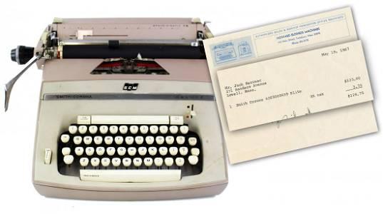 "Jack Kerouac's Typewriter, Used to Write ""Vanity ..."""