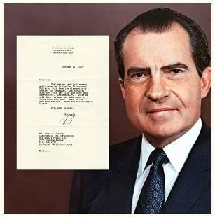 Nixon TLS Ironically Quotes Roosevelt ldquoNo man is