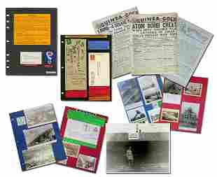 Atomic Bomb Superb Archive with Autographs,