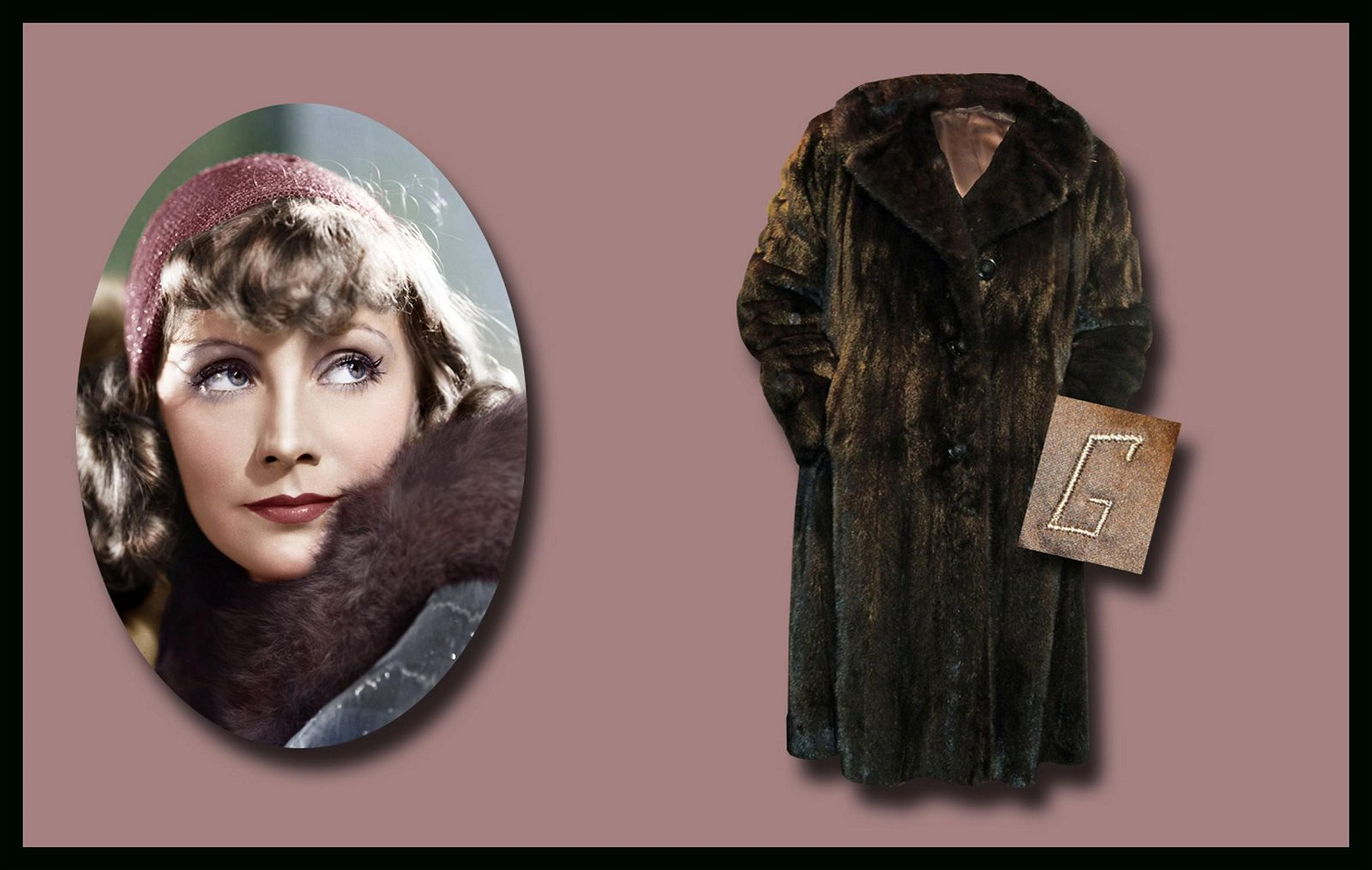 Greta Garbo's Personally Owned, Monogrammed and Worn,