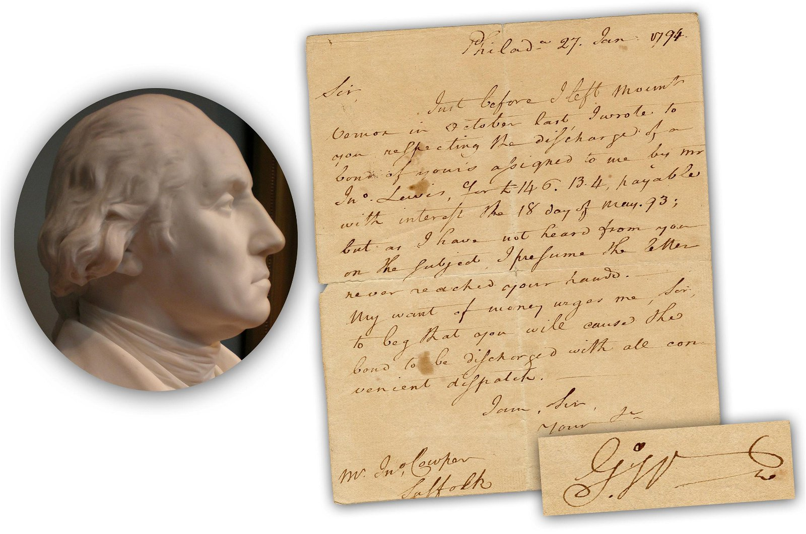 George Washington Begs for Payment for Land He Sold in