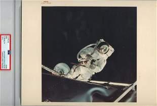 Astronaut Rusty Schweickart During Spacewalk 1969