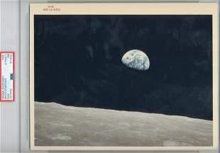 Original NASA Apollo VIII Red Number Color Photo
