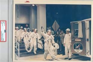 Apollo XI PRE-LAUNCH COUNTDOWN! Original NASA Red