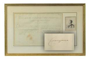 Catherine the Great, Stupendous Signed Document
