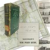 Caroline Fillmore's 3x Signed Paris Guide Book