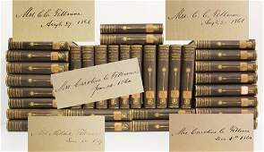 Millard Fillmore Each Signed Set of 32 James Fenimore
